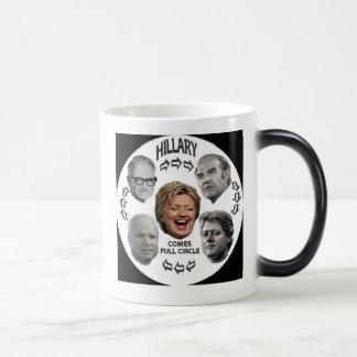 Hillary Full Circle Morphing Mug