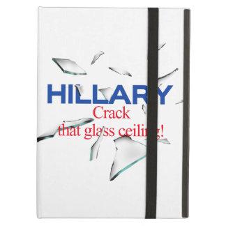 Hillary, grieta que techo de cristal
