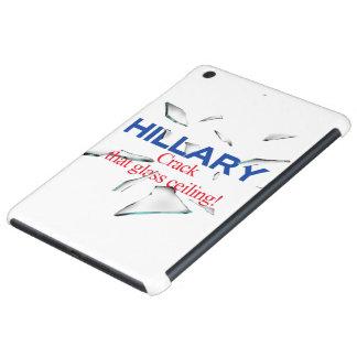 Hillary, grieta que techo de cristal funda para iPad mini retina