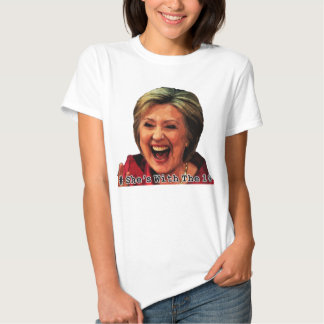 Hillary Hashtag: She's With the 1% T Shirt
