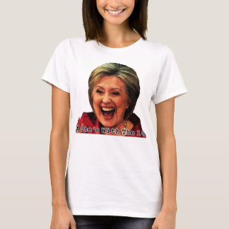 Hillary Hashtag: She's With the 1% T-Shirt