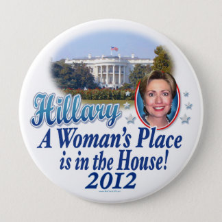 Hillary House 2012 Button