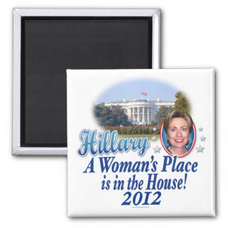 Hillary House 2012 2 Inch Square Magnet