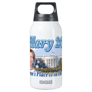 Hillary House 2016 10 Oz Insulated SIGG Thermos Water Bottle