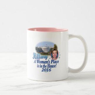 Hillary House 2016 Two-Tone Coffee Mug