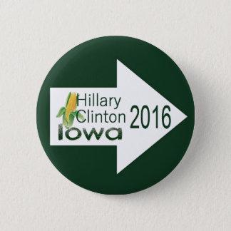 Hillary IOWA 2016 Button