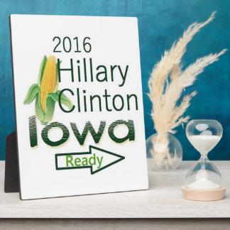 Hillary IOWA 2016 Plaques