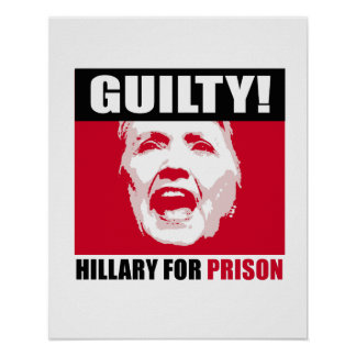 FBI AGENT RISKS EVERYTHING TO PUT HILLARY CLINTON IN GITMO Hillary_is_guilty_hillary_for_prison_anti_hi_poster-ra039b86659b64c41a4b52518382bef8f_wvc_8byvr_324