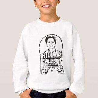 Hillary is / is not my Homegirl Sweatshirt