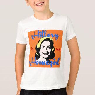 hillary is my homegirl kid's t-shirt