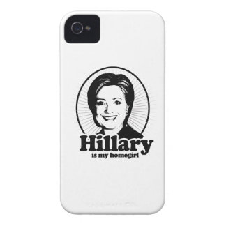 HILLARY IS MY HOMEGIRL -.png iPhone 4 Case-Mate Cases