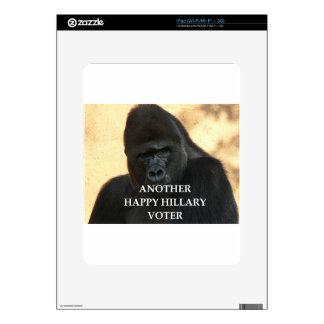 hillary joke iPad decals