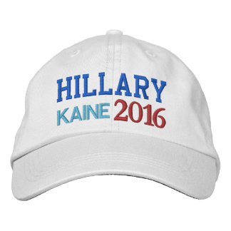 Hillary KAINE Electric Energy 2016 Embroidered Baseball Cap