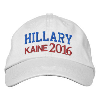 Hillary KAINE Presidential Election 2016 Embroidered Baseball Cap