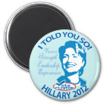 Hillary le dijo tan 2012 iman