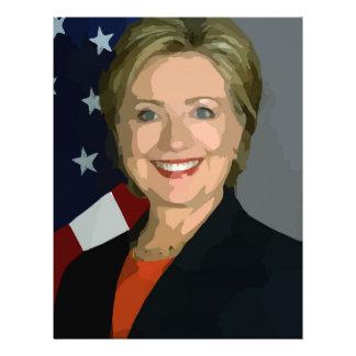 Hillary Letterhead