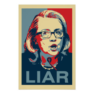 Hillary: LIAR Poster