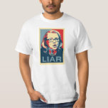 Hillary: LIAR T-shirt