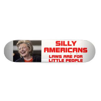 HILLARY LITTLE PEOPLE SKATEBOARD