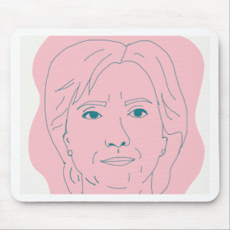 Hillary Mouse Pad