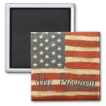 Hillary Mrs President 2016 2 Inch Square Magnet