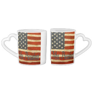 Hillary Mrs President 2016 Coffee Mug Set
