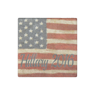 Hillary Mrs President 2016 Stone Magnet