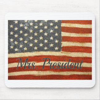 Hillary Mrs President 2016 Mouse Pad