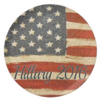 Hillary Mrs President 2016 Plate
