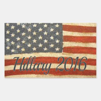 Hillary Mrs President 2016 Rectangular Sticker