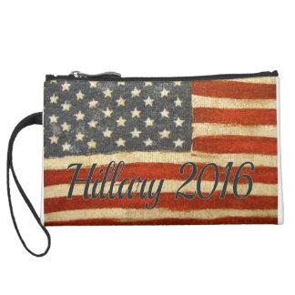 Hillary Mrs President 2016 Wristlet