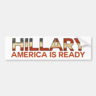 Hillary Mrs President Bumper Sticker