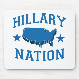 HILLARY NATION.png Mouse Pad