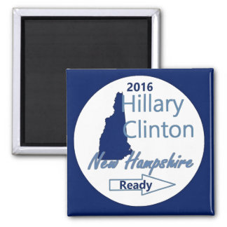 Hillary NEW HAMPSHIRE 2016 Magnet