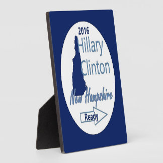 Hillary NEW HAMPSHIRE 2016 Plaques