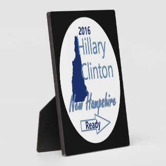 Hillary NEW HAMPSHIRE 2016 Plaque