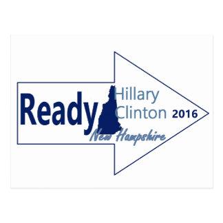 Hillary NEW HAMPSHIRE 2016 Postcard