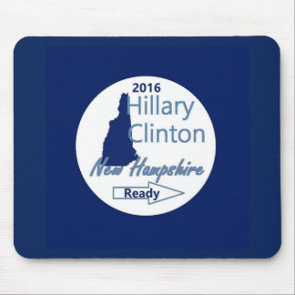 Hillary NEW HAMPSHIRE 2016 Alfombrilla De Ratón