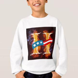 Hillary on fire! sweatshirt