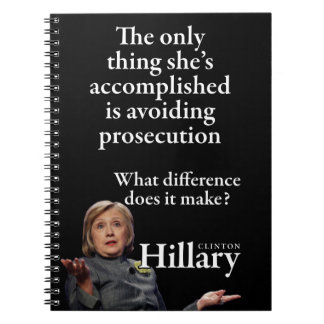HILLARY ONLY THING NOTEBOOK