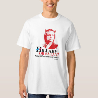 Hillary or Satan - what difference T-Shirt