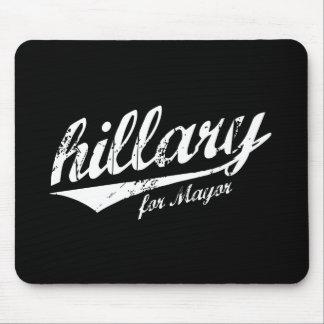 HILLARY PARA el blanco de ALCALDE JERSEY - .png Alfombrillas De Raton