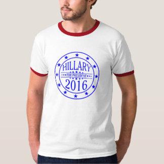 Hillary para el diseño de la campaña del poleras