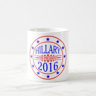 Hillary para el diseño de la taza del presidente