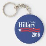 Hillary para el llavero del presidente 2016 campañ