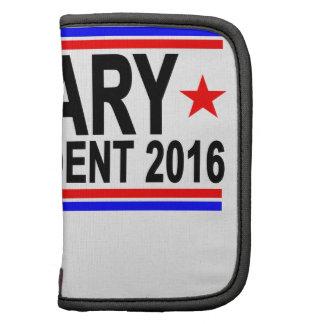 Hillary PARA el PRESIDENTE 2016 camisetas .png Organizador