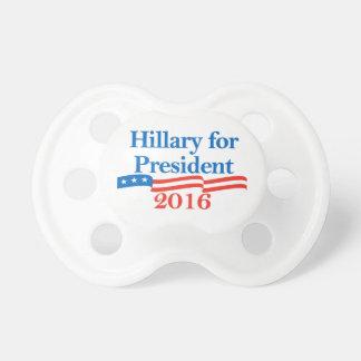 Hillary para el presidente 2016 chupetes