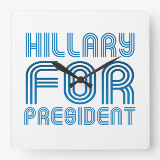HILLARY PARA EL PRESIDENTE 2016 RELOJ