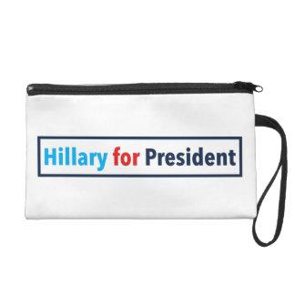 Hillary para el presidente (elija su propio color)