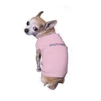 Hillary para el presidente (elija su propio color) playera sin mangas para perro